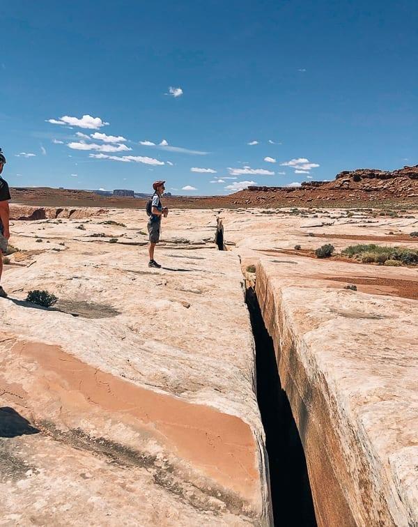 Black Crack Mountain biking Moab Utah by thewoksoflife.com