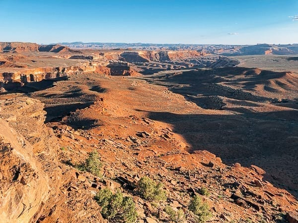 View from White Rim Trail Murphy Hogback by thewoksoflife.com