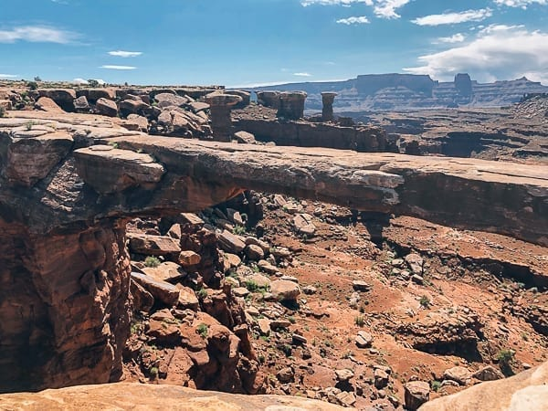 Musselman Arch in Canyonlands National Park by thewoksoflife.com