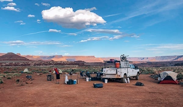 Airport Campground on White Rim trail by thewoksoflife.com