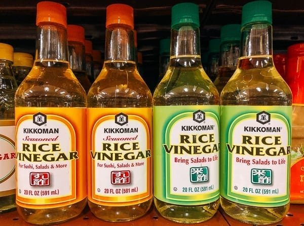 Kikkoman Rice Vinegar, thewoksoflife.com