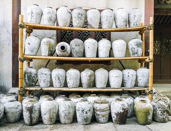 Shaoxing wine jars, thewoksoflife.com