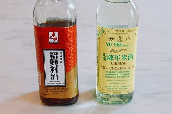 Shaoxing wine vs. clear rice wine, thewoksoflife.com