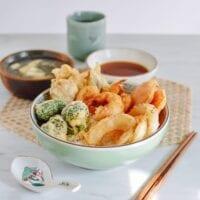 Tempura Donburi, thewoksoflife.com