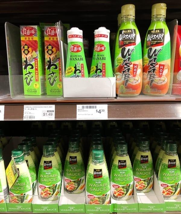 Wasabi on store shelf, thewoksoflife.com