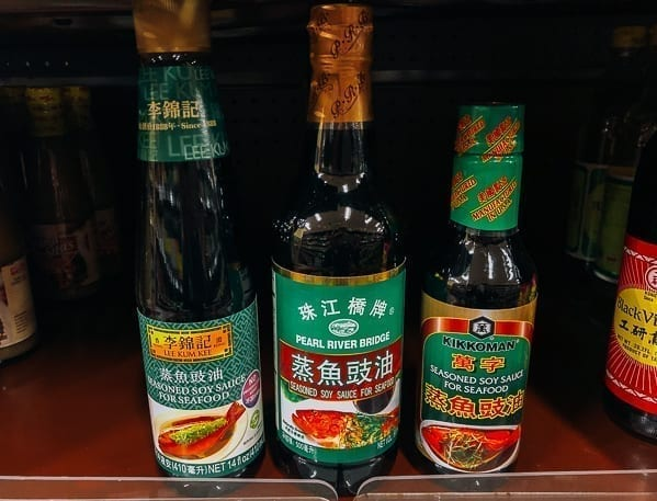 Seasoned Soy Sauce for seafood brands, thewoksoflife.com