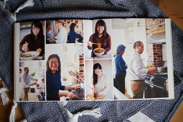 Photo book spread, thewoksoflife.com