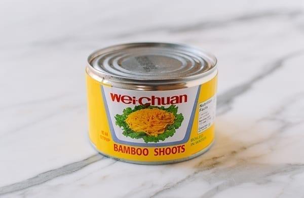 Canned bamboo shoots, thewoksoflife.com