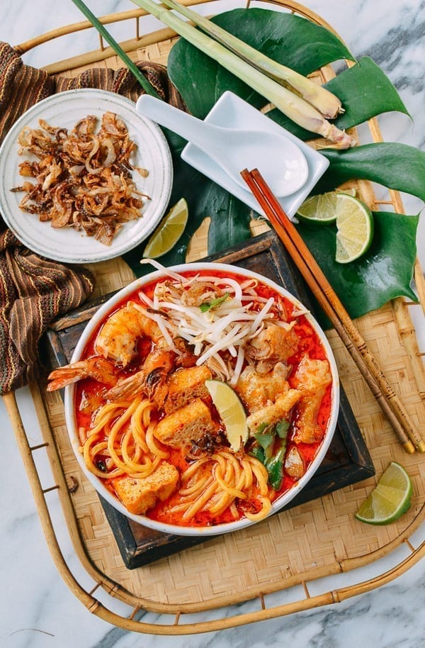 Laksa Recipe, thewoksoflife.com