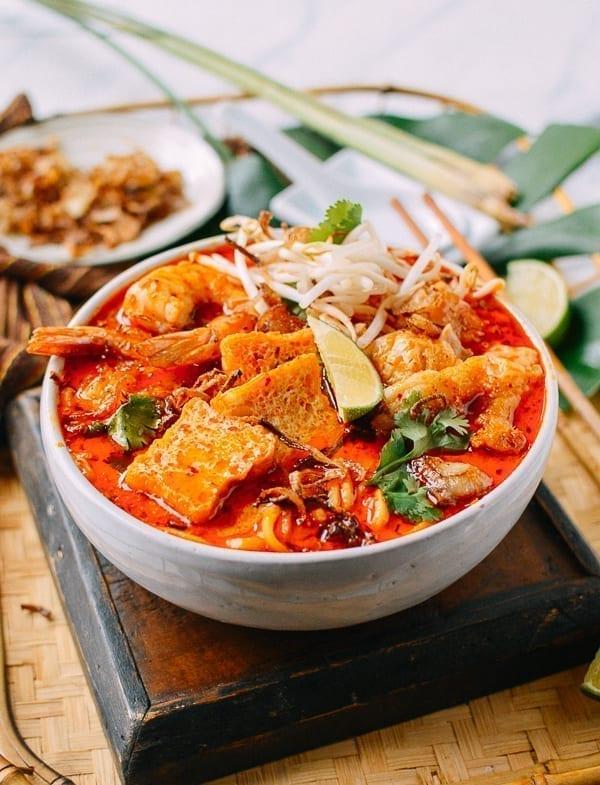 Laksa Noodle Soup, thewoksoflife.com