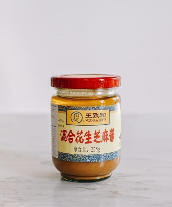 Chinese Sesame Paste jar, thewoksoflife.com