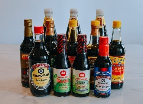 Different types of soy sauce, thewoksoflife.com