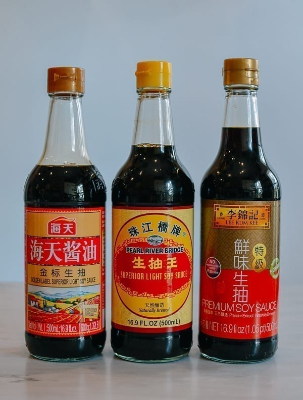 Chinese Light Soy Sauce Bottles, thewoksoflife.com