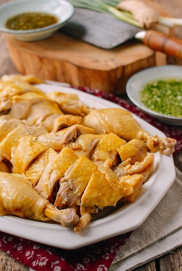 Chinese Poached Chicken, thewoksoflife.com
