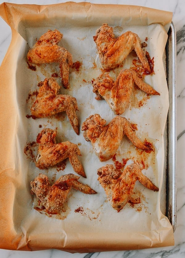Baked Crispy Chicken Wings, thewoksoflife.com