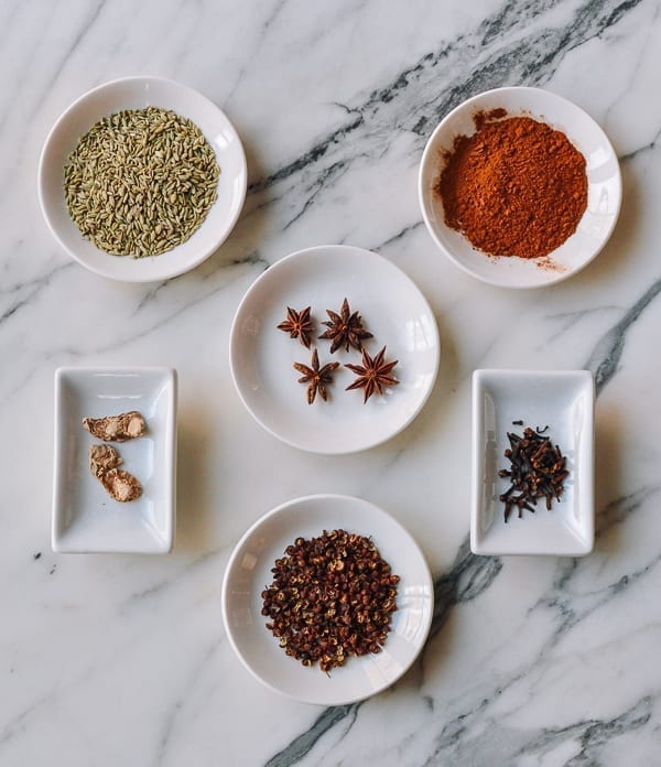 Five Spice Powder Ingredients, thewoksoflife.com