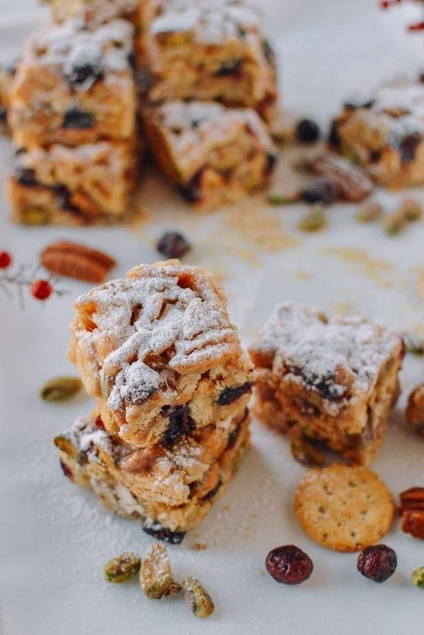 Holiday Marshmallow Treats, thewoksoflife.com