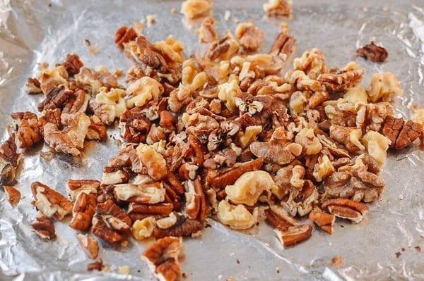 Toasted walnuts and pecans, thewoksoflife.com