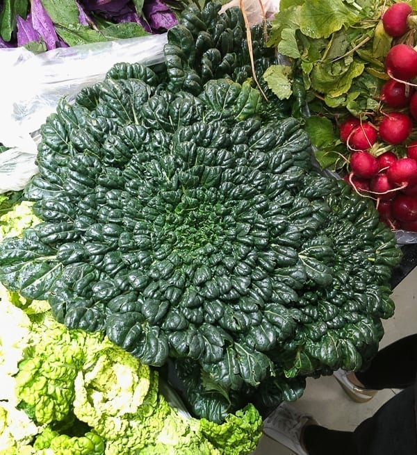 Tatsoi leafy green Chinese vegetable by thewoksoflife.com
