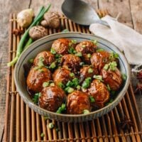 Chinese Stuffed Fried Gluten Balls, thewoksoflife.com