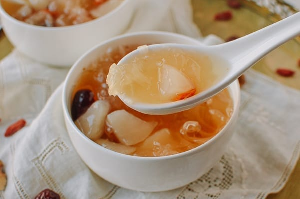 Spoonful of Snow Fungus Soup, thewoksoflife.com