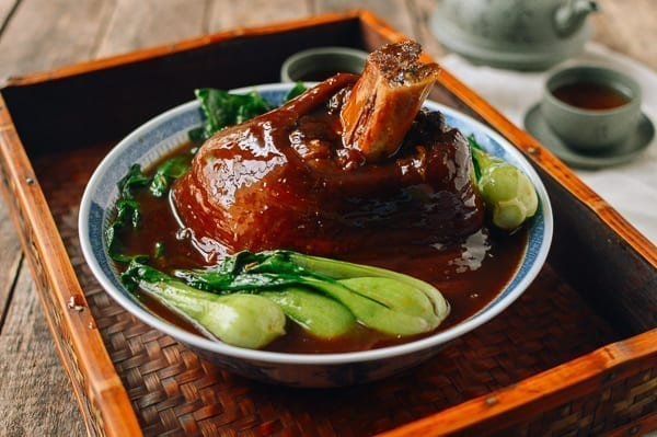 Chinese Ti Pang pork shank, thewoksoflife.com