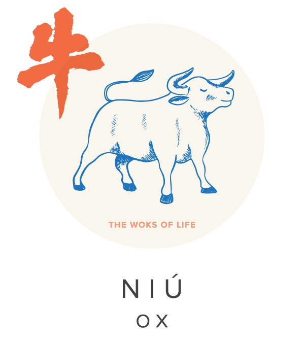 The Woks of Life Ox Chinese Zodiac Sign