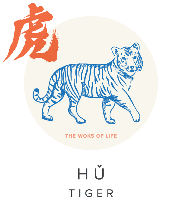 The Woks of Life Chinese Zodiac Tiger