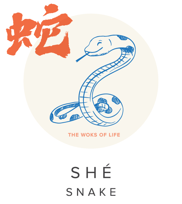 The Woks of Life Chinese Zodiac Snake