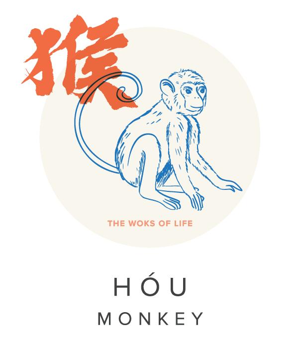 The Woks of Life Chinese Zodiac Monkey