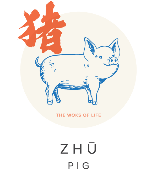 The Woks of Life Chinese Zodiac Pig