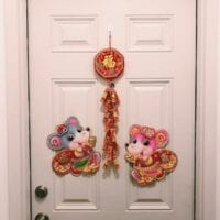 Year of Rat Door, thewoksoflife.com