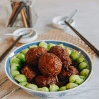 Chinese Lion's Head Meatballs, thewoksoflife.com