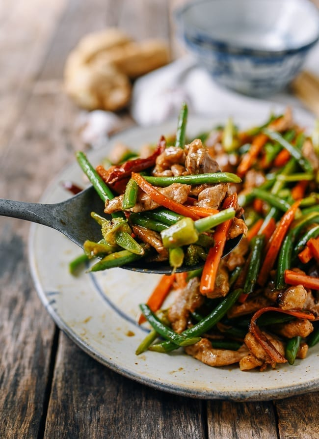 Garlic Scape Stir-fry