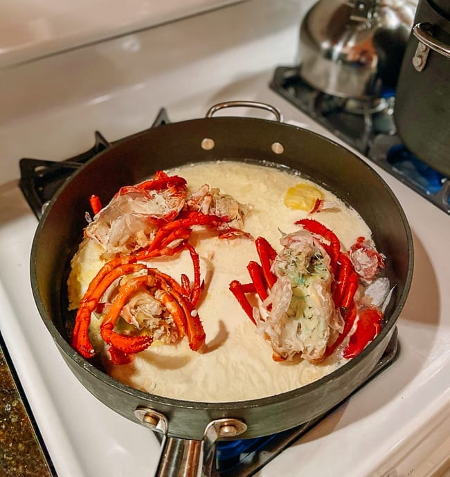 Lobsters flavoring cream sauce, thewoksoflife.com