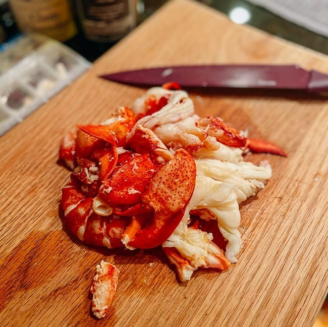 Fresh lobster meat, thewoksoflife.com