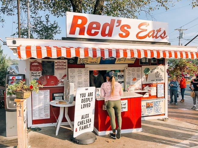 Red's Eats in Wiscasset Maine, thewoksoflife.com