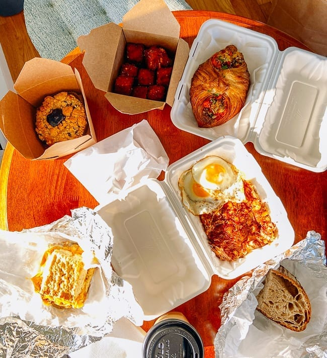 Takeout breakfast from Dutch's, thewoksoflife.com