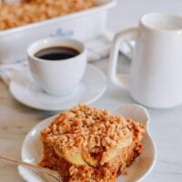 Apple Cinnamon Coffee Cake, thewoksoflife.com