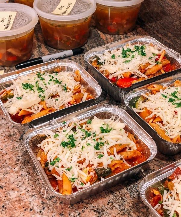 Freezer Individual Meal Prep, thewoksoflife.com