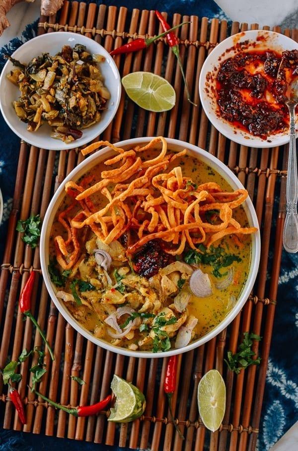 Bowl of Chicken Khao Soi, thewoksoflife.com