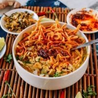 Bowl of Chicken Khao Soi, thewoksoflife.com
