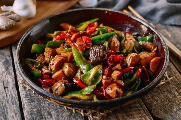 Spicy King Oyster Mushroom Stir-fry, thewoksoflife.com