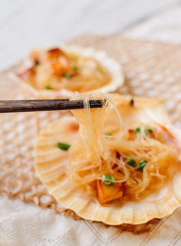 King Oyster Mushrooms with Garlicky Glass Noodles