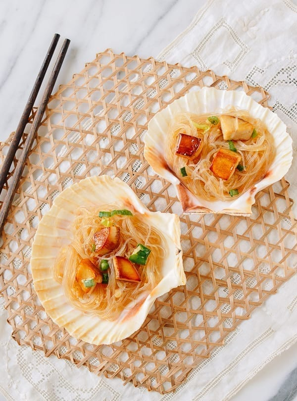King Oyster Mushrooms with Glass Noodles, thewoksoflife.com