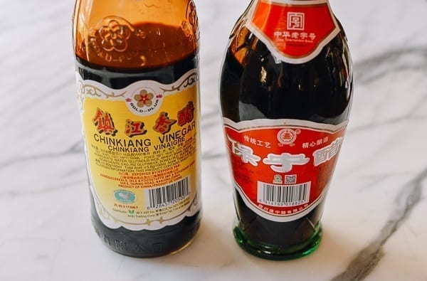 Chinese black vinegar and sweet vinegar, thewoksoflife.com