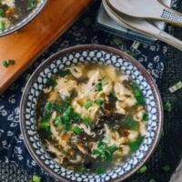 Seaweed Egg Drop Soup, thewoksoflife.com