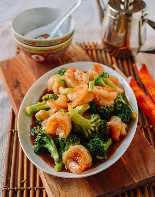 Shrimp and Broccoli, thewoksoflife.com