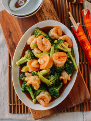 Shrimp and Broccoli, thewoksoflife.com