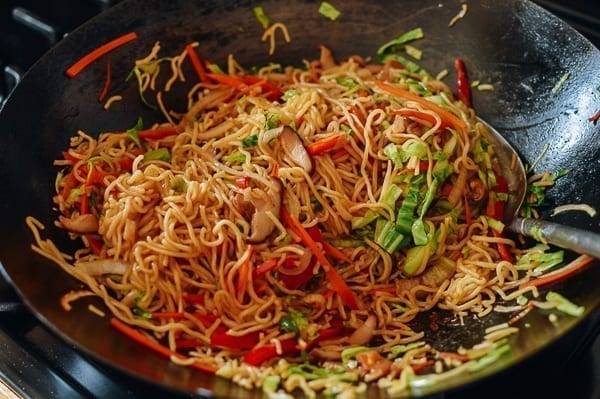 Vegetable yakisoba, thewoksoflife.com